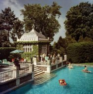 Slim Aarons Poolside