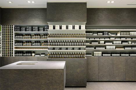 Aesop Store Interior