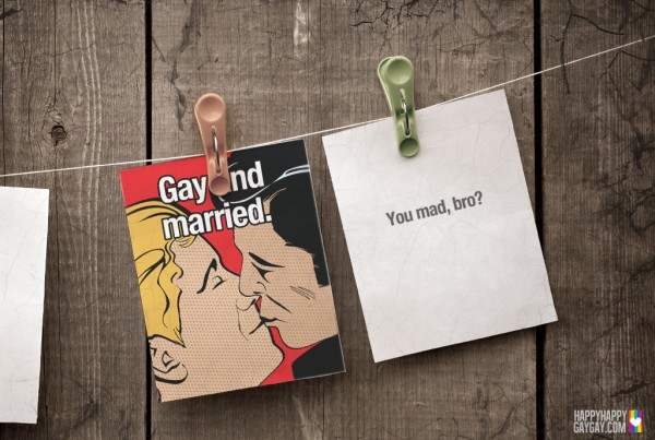 Gay Wedding Cards