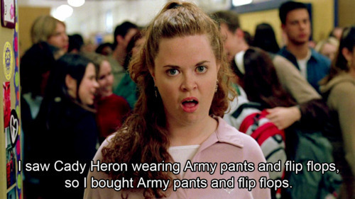 Modern Gay Mean Girls Cady Heron