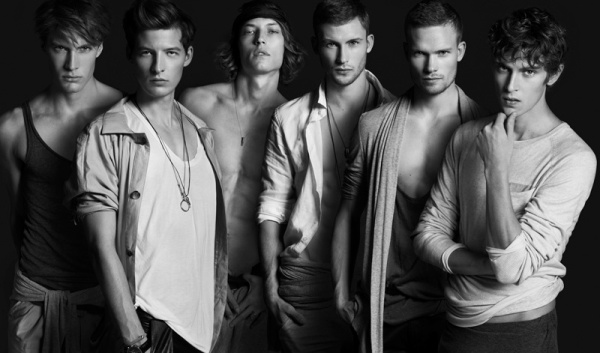 Modern Gay Male Models Life