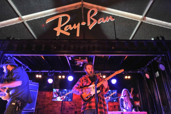 Matt Corby performs at Ray Ban Envision Tour