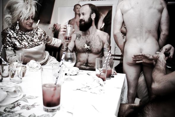 Modern Gay Dinner Party