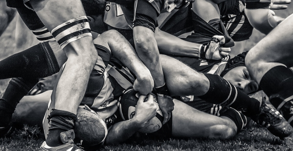 Gay Rugby Boys Scrum