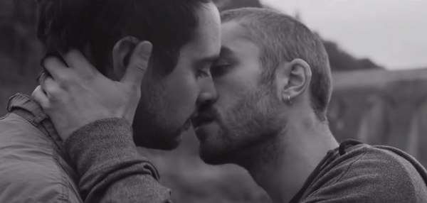 gay music blog gay men kiss